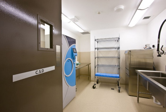 medical sterilization room