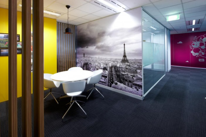 Office Informal Meeting Areas Activity Based Workplace