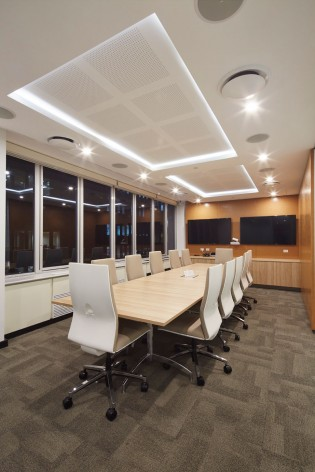 Bird & Bird fitout - conference room