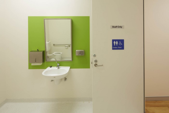 Medical Practice disabled & unisex toilet