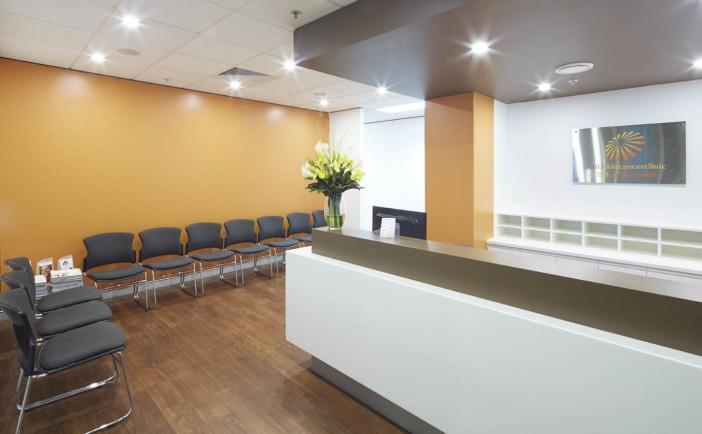 Clinic waiting area